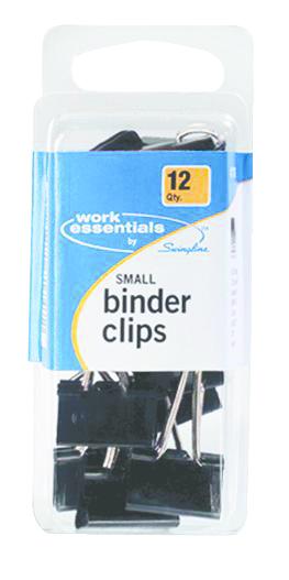 Work Essentials Binder Clips - 12Pk