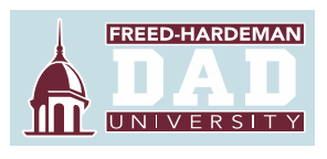 Freed-Hardeman Dad Decal