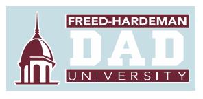 Freed-Hardeman Dad Decal