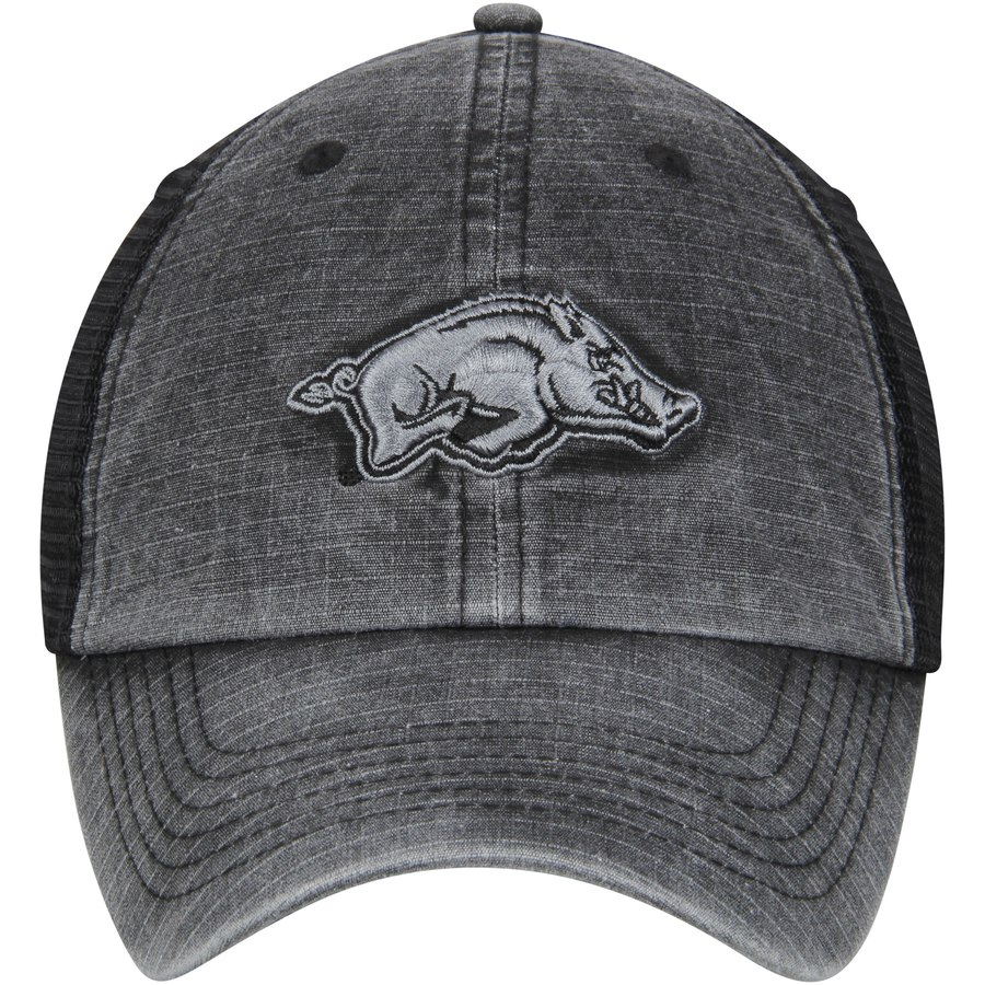 Charcoal Mesh Running Hog Hat