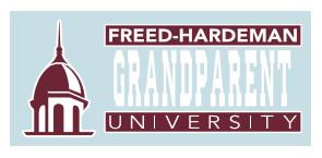 Freed-Hardeman Grandparent Decal