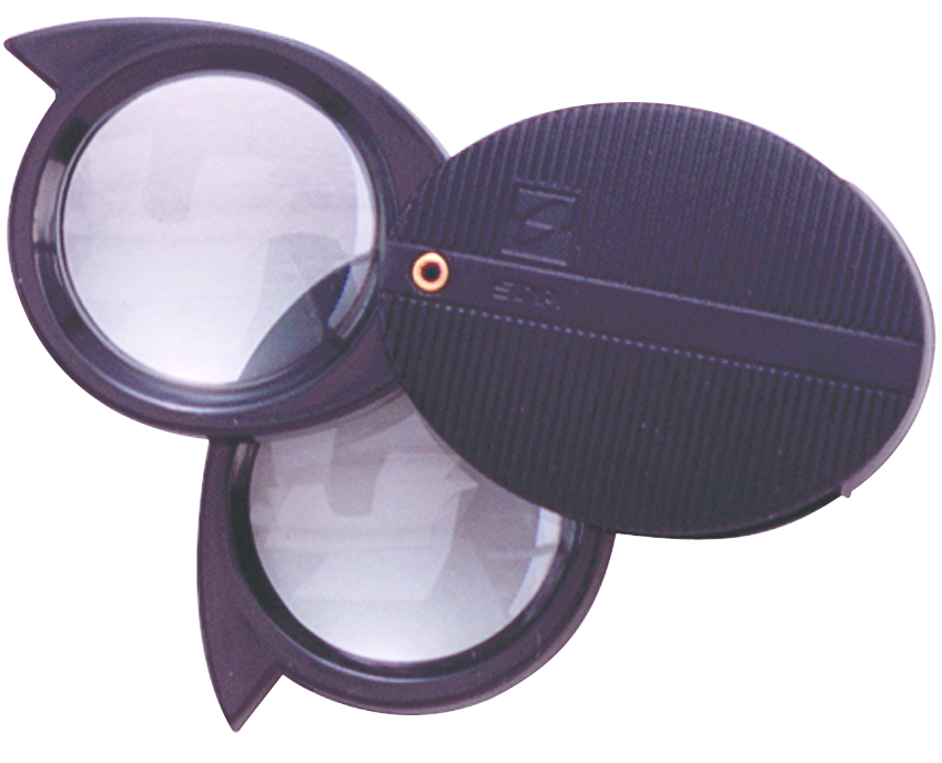 Compass Industries Magnifier Loupe - Black 1in 1Ct Box 10X