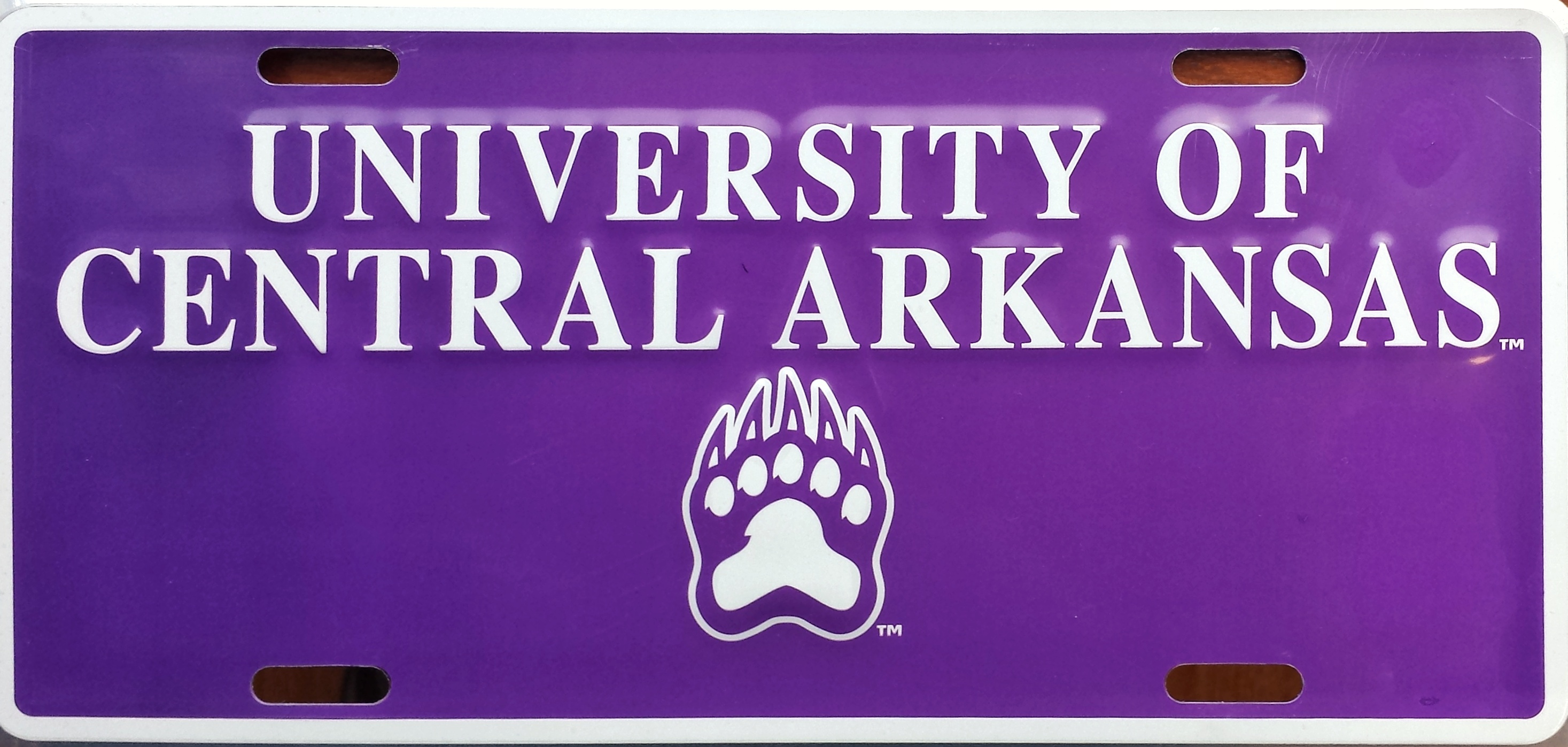 UCA Paw Deluxe License Plate