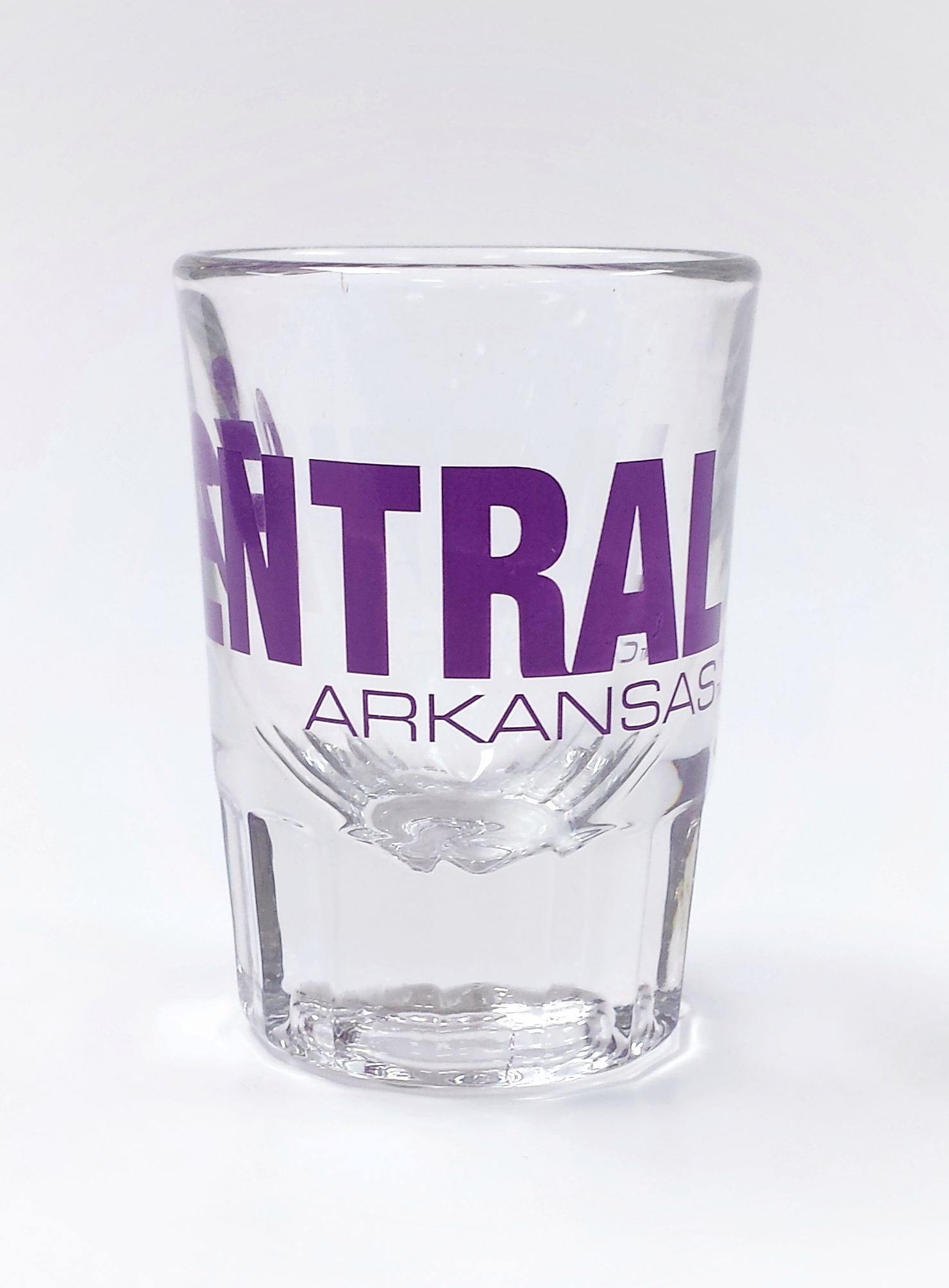 Central Arkansas Fluted Shot Glass