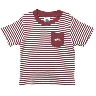 Youth Striped Pocket Tee