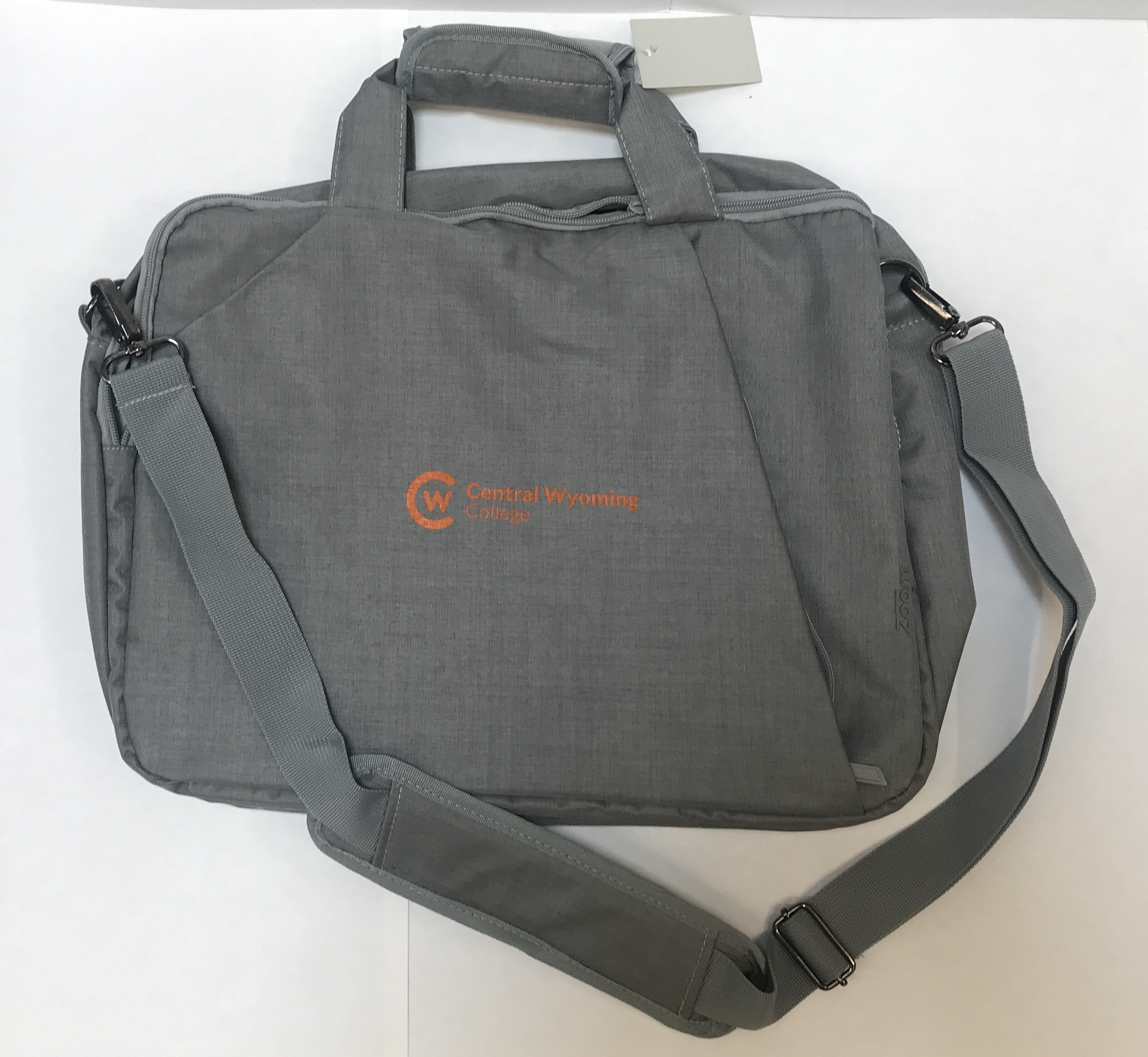 Gray CWC Laptop Bag