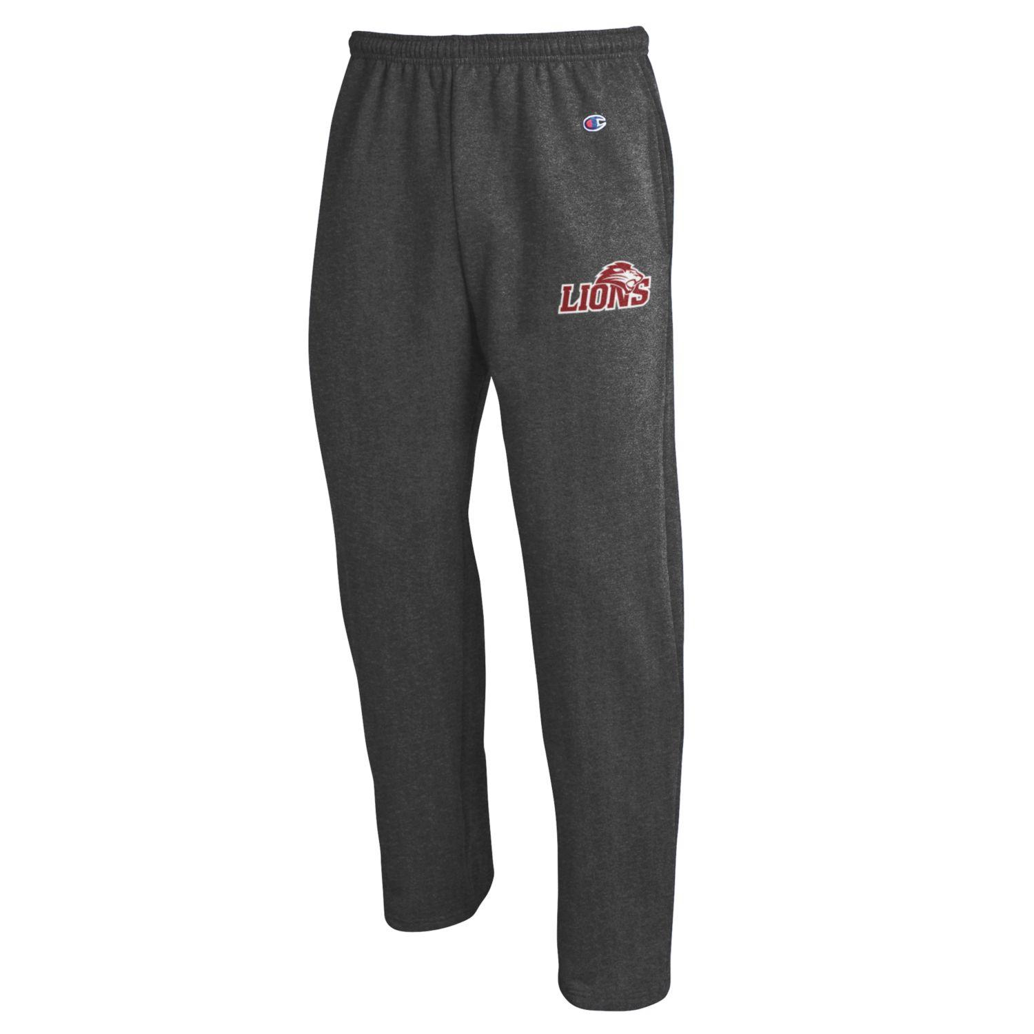 Lions Open Bottom Sweatpants