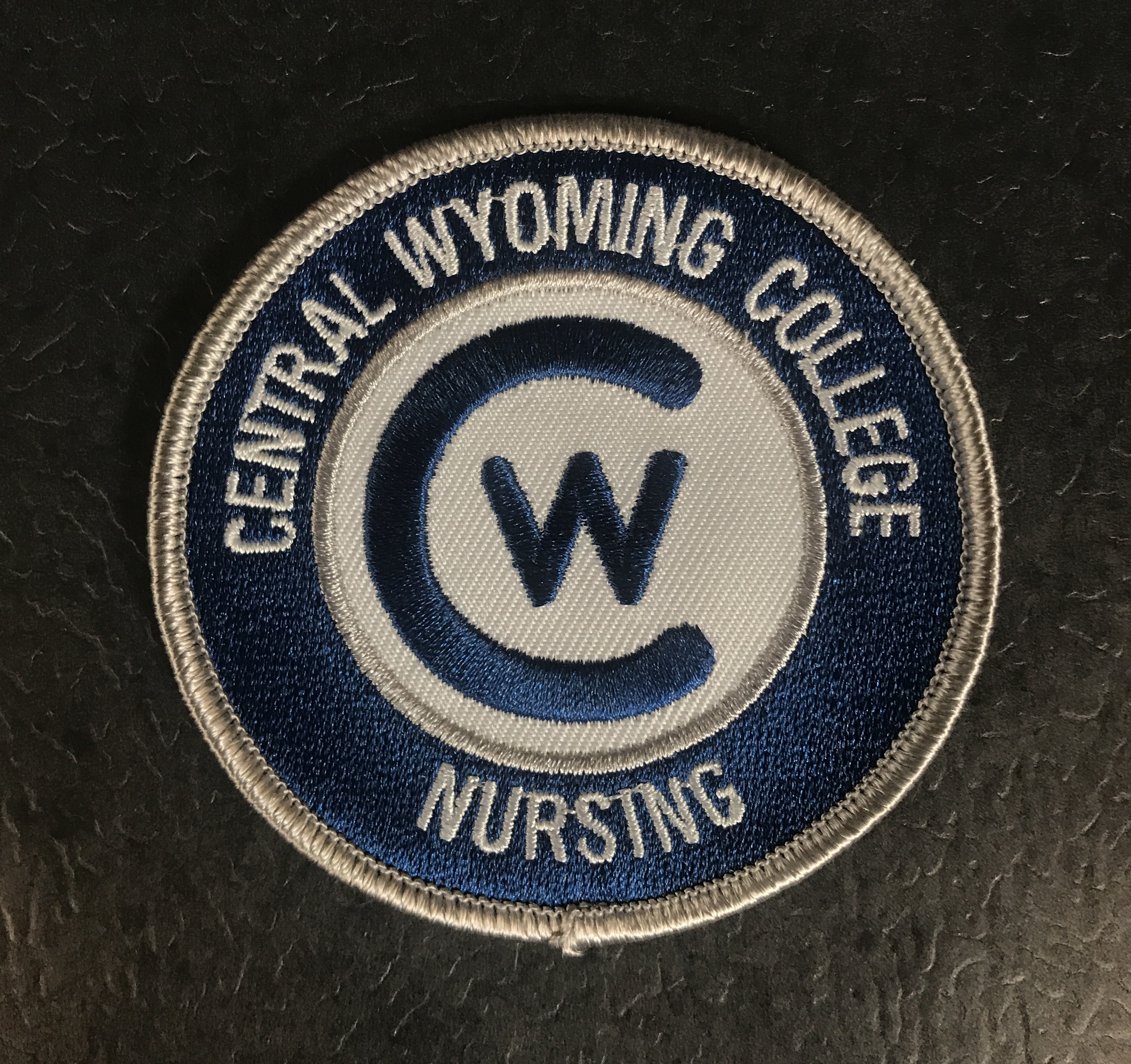 Official Central Wyoming College Nursing Patch