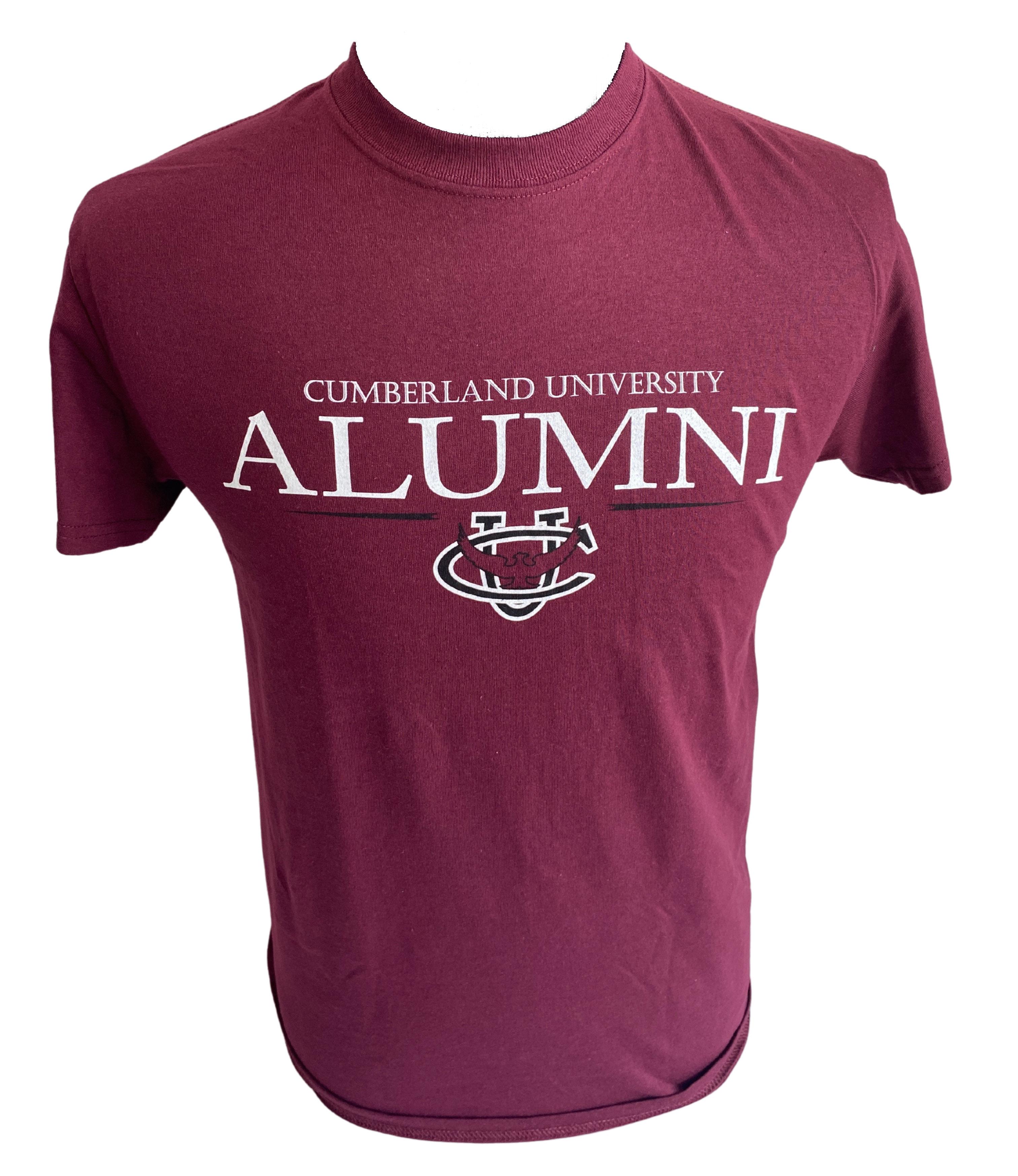 Cumberland University Alumni CU Logo Tshirt