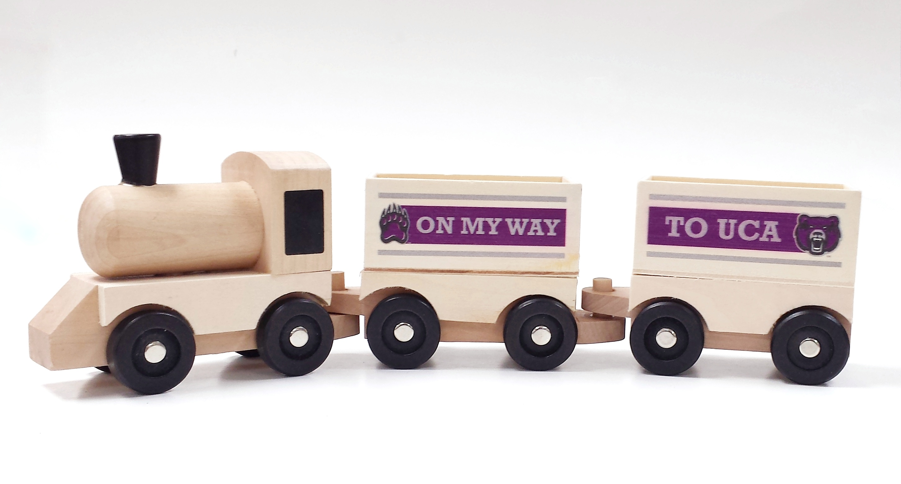 UCA Wooden Train