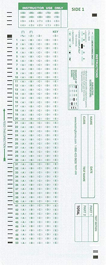 Scantron 882E- 6 Pack