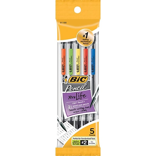 Bic Mechanical Pencil- 5 Pack