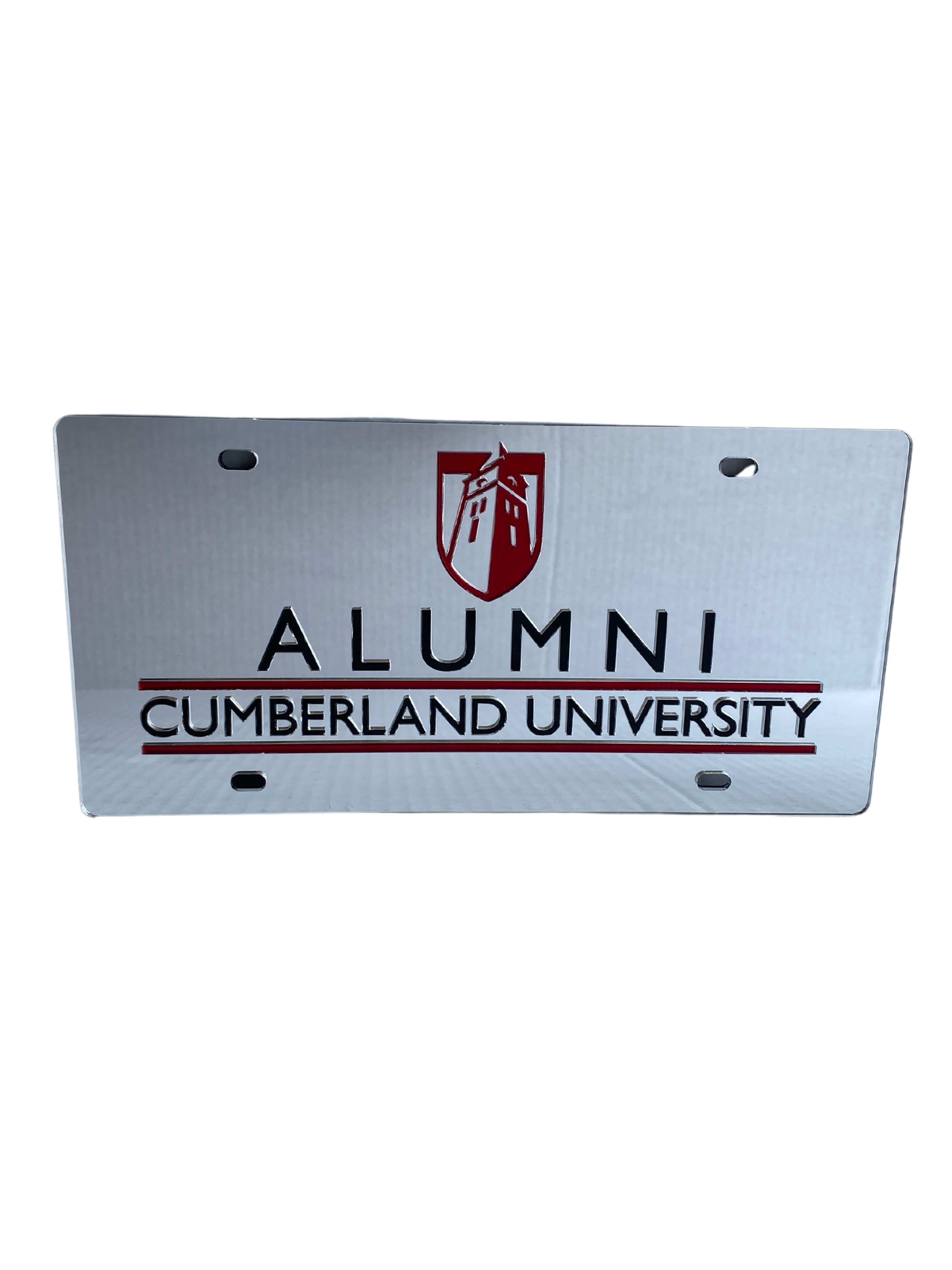 Cumberland University Alumni License Plate