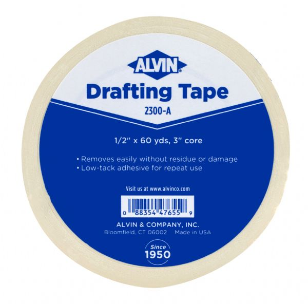 "Alvin® Drafting Tape 1/2"" x 60yds"