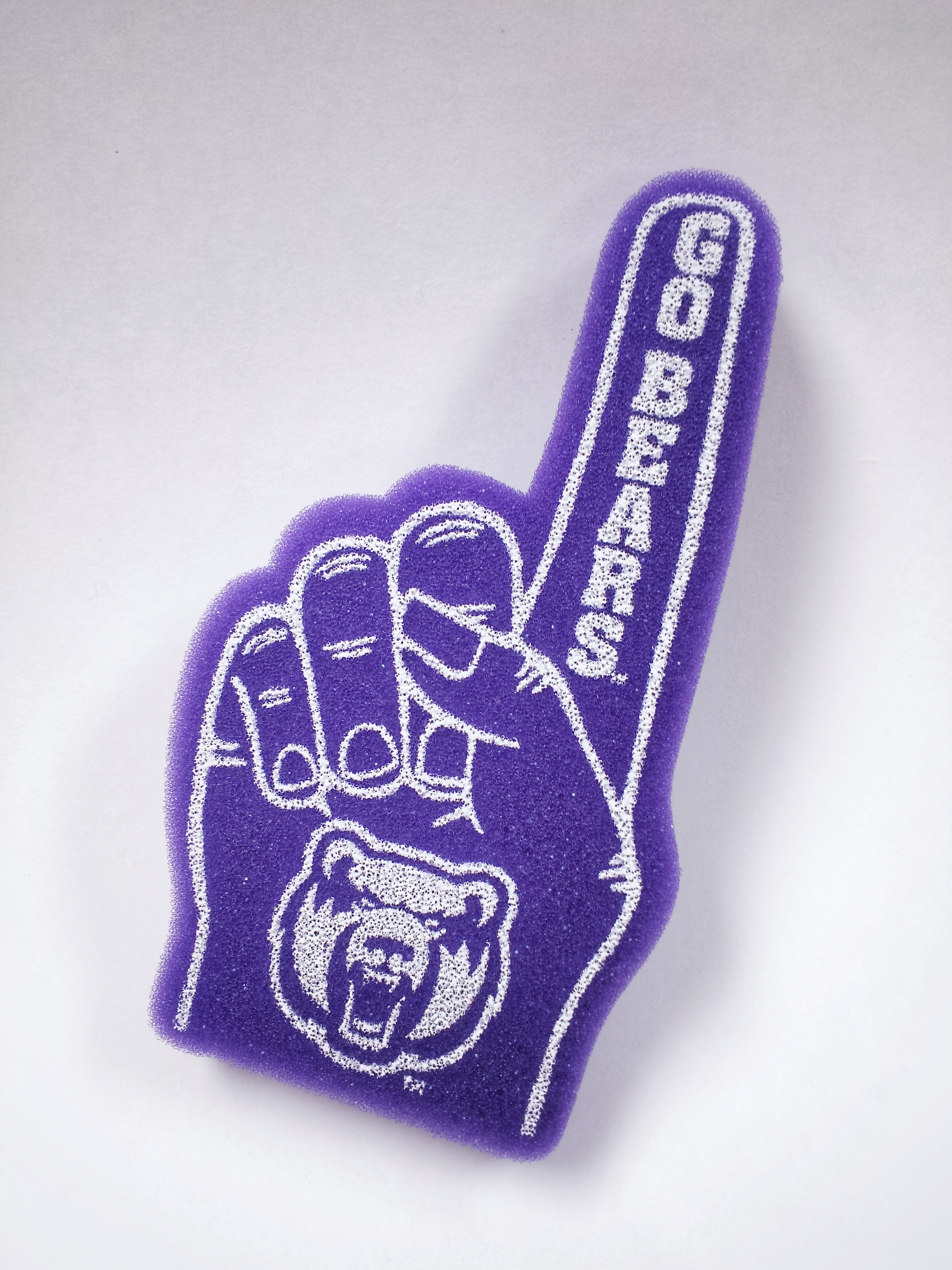 "UCA 6.5"" Foam Finger"