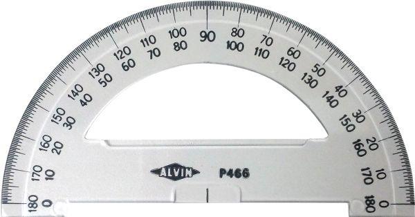 """Alvin® 6"""" Semicircular Protractors"""