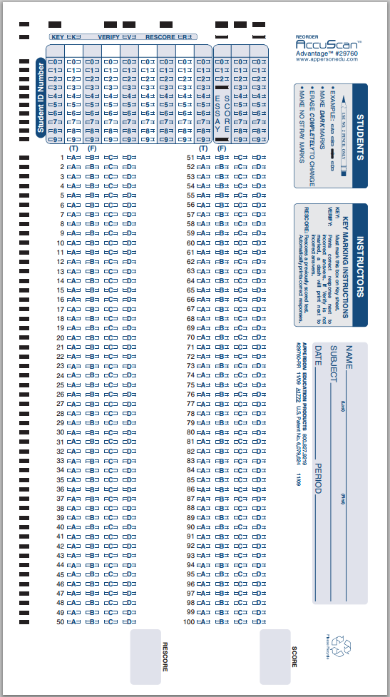 DataLink 1200 Scantron/6 Pack