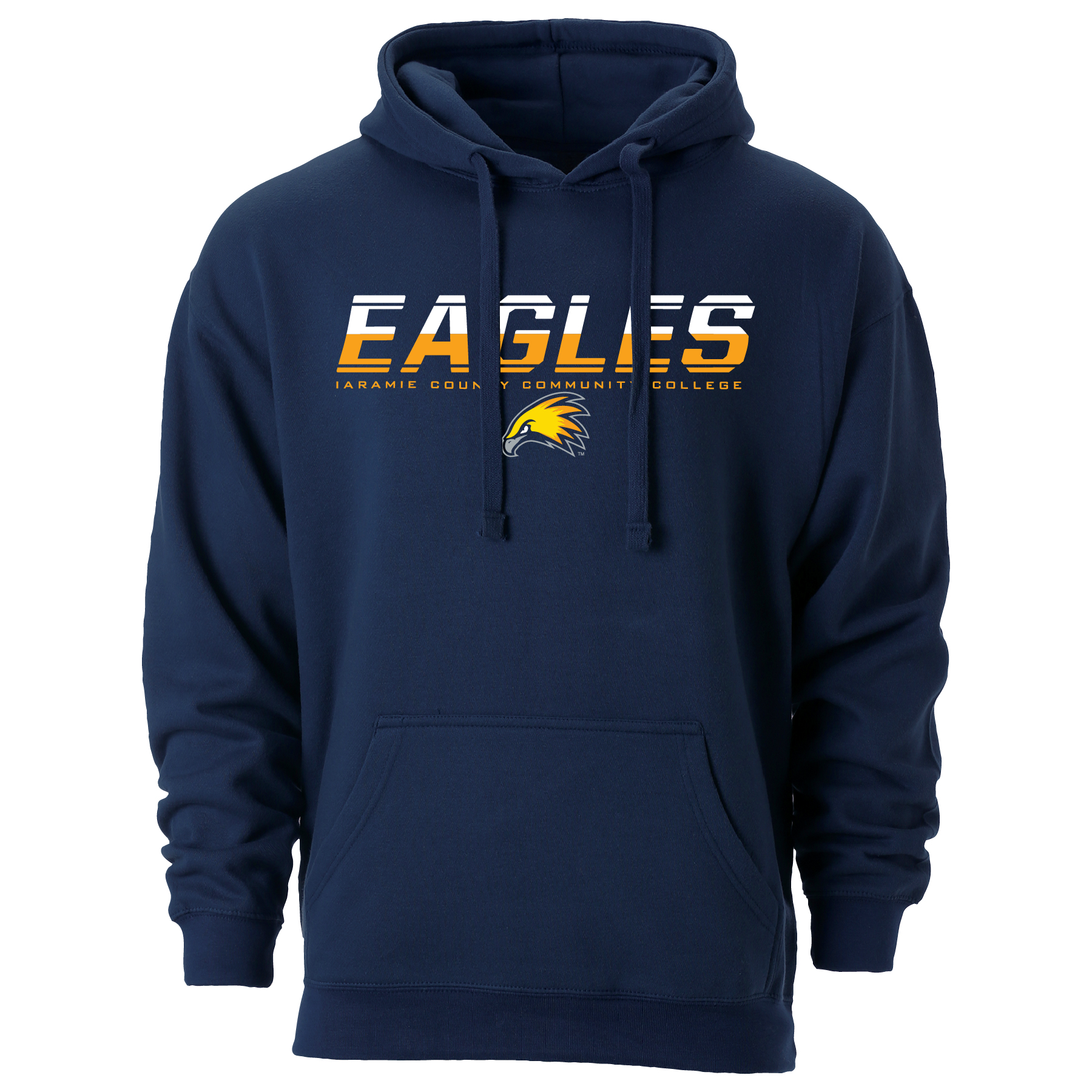 Striped Speed Eagles Hoodie