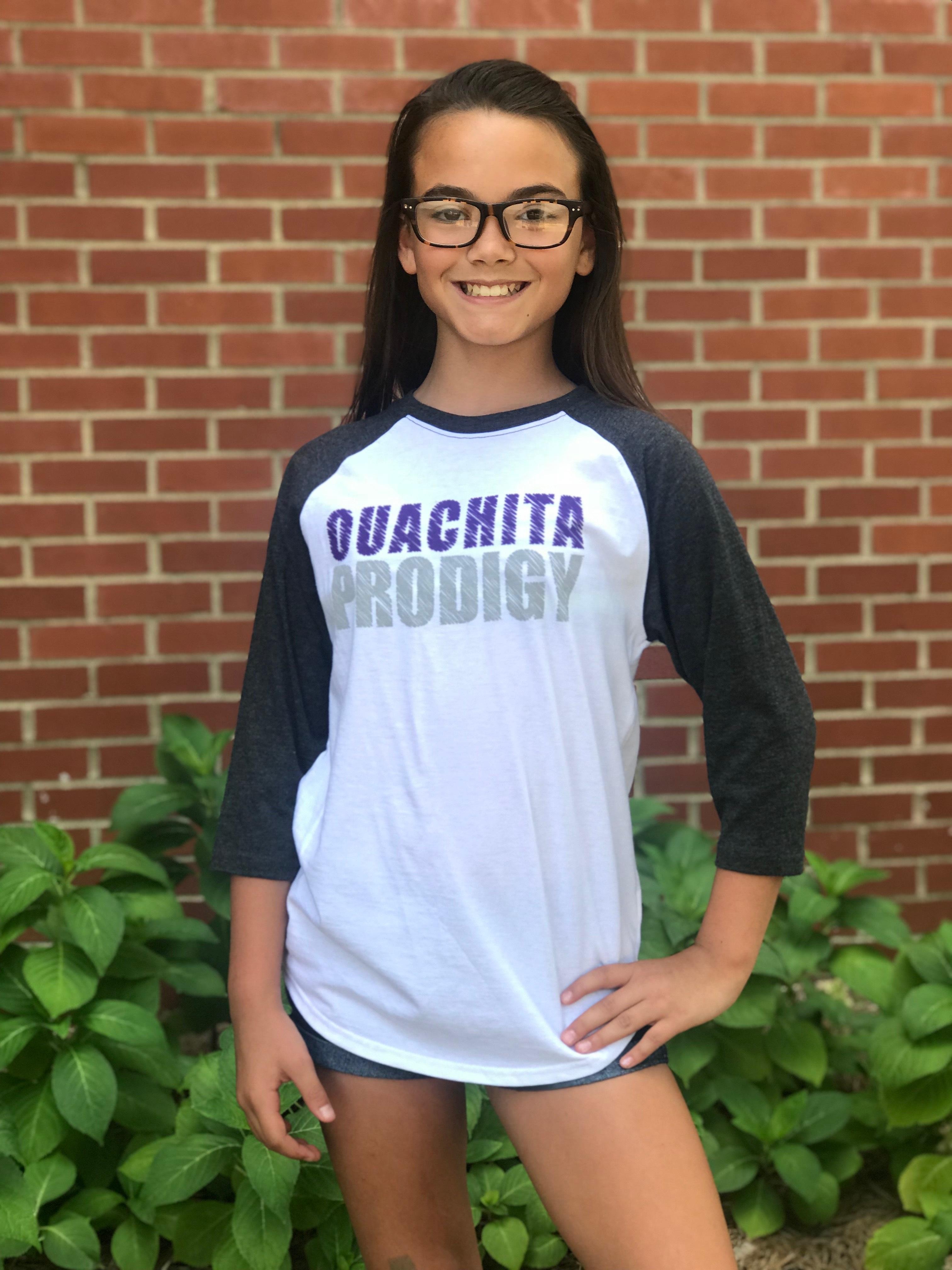 OUACHITA PRODIGY YOUTH RAGLAN TEE