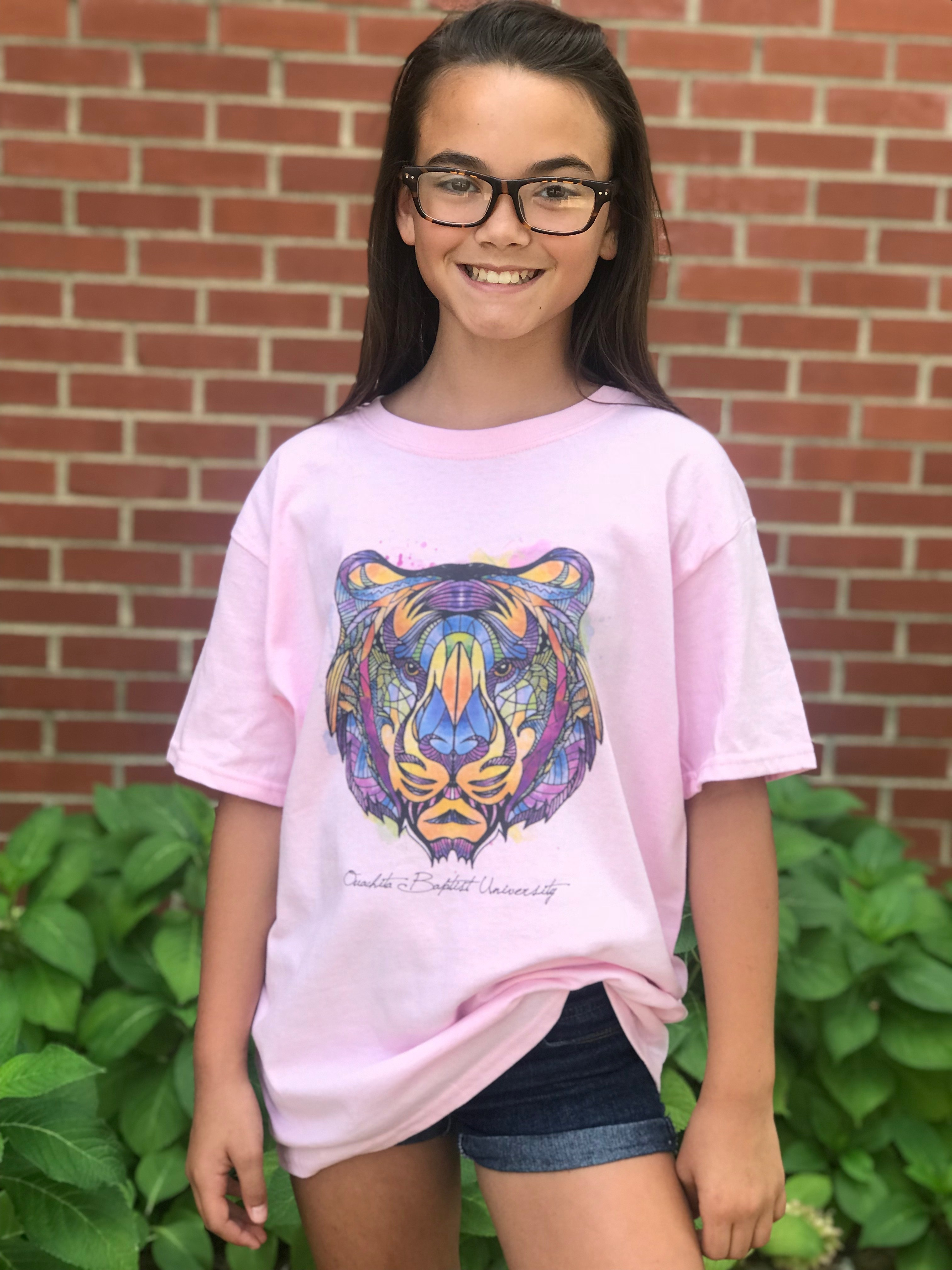 OUACHITA BAPTIST UNIVERSITY WATERCOLOR YOUTH TEE