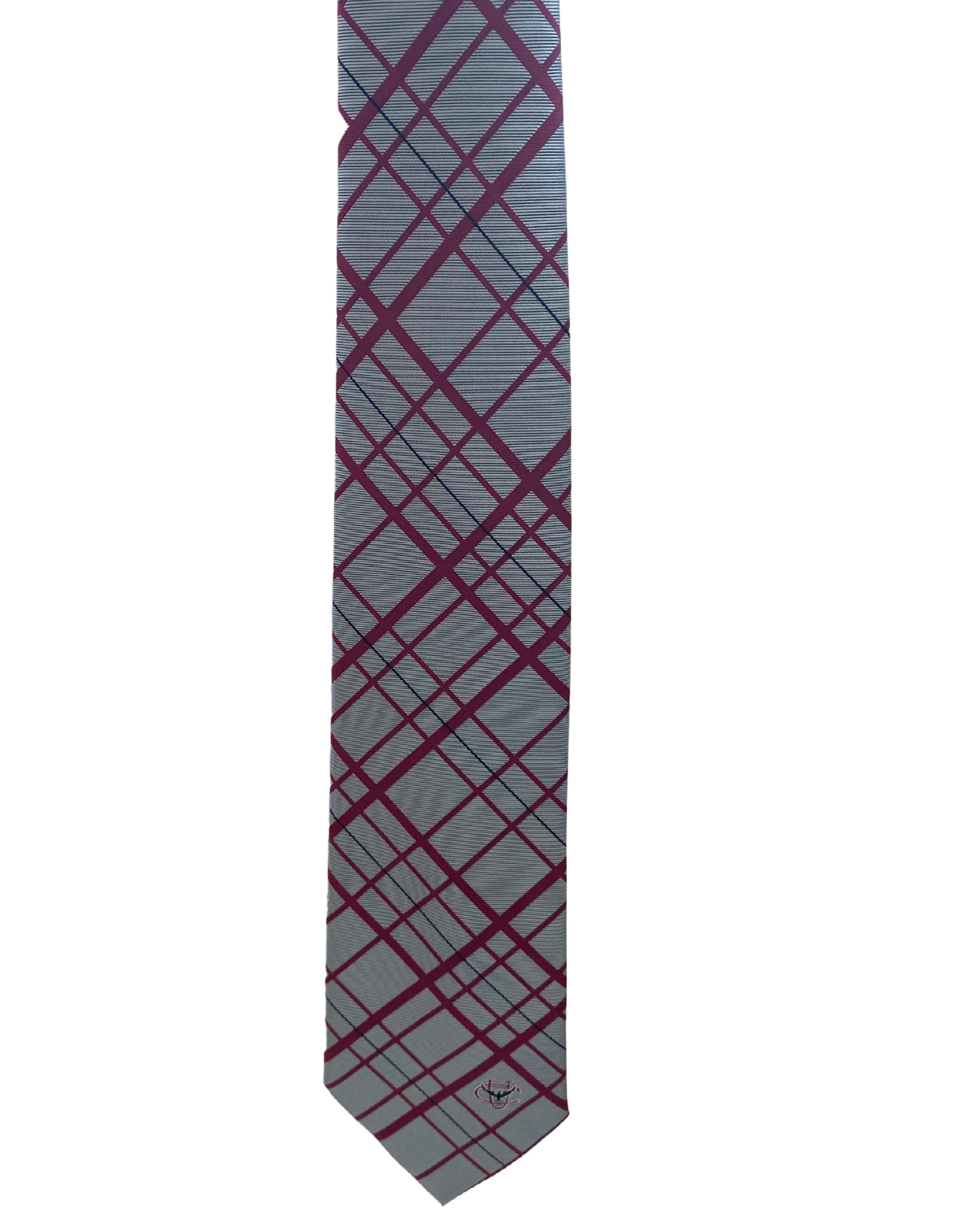 CU Stripe Tie Pinstripe