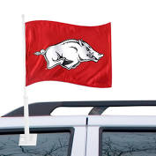 Razorback Car Flag