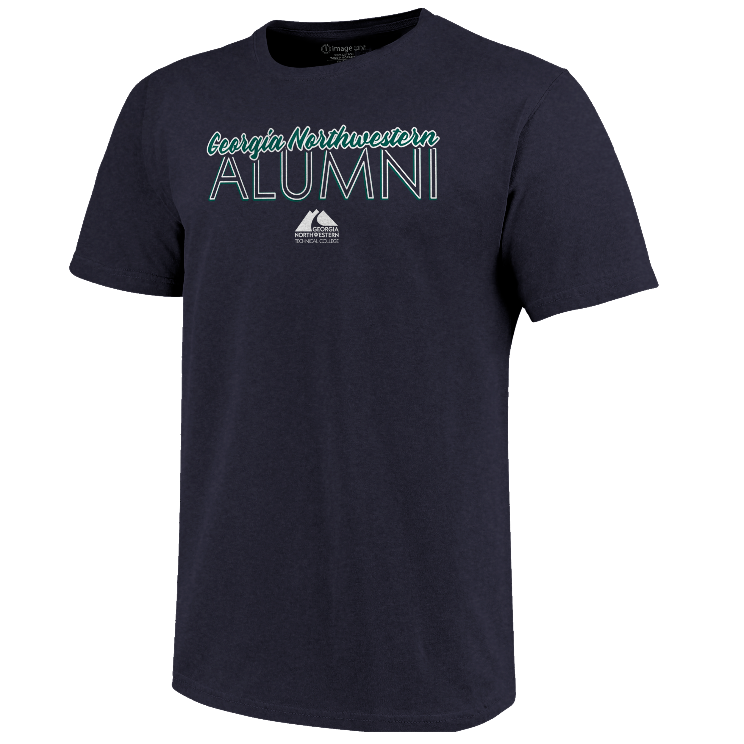Georgia Northwestern Outline Script Alumni Tshirt