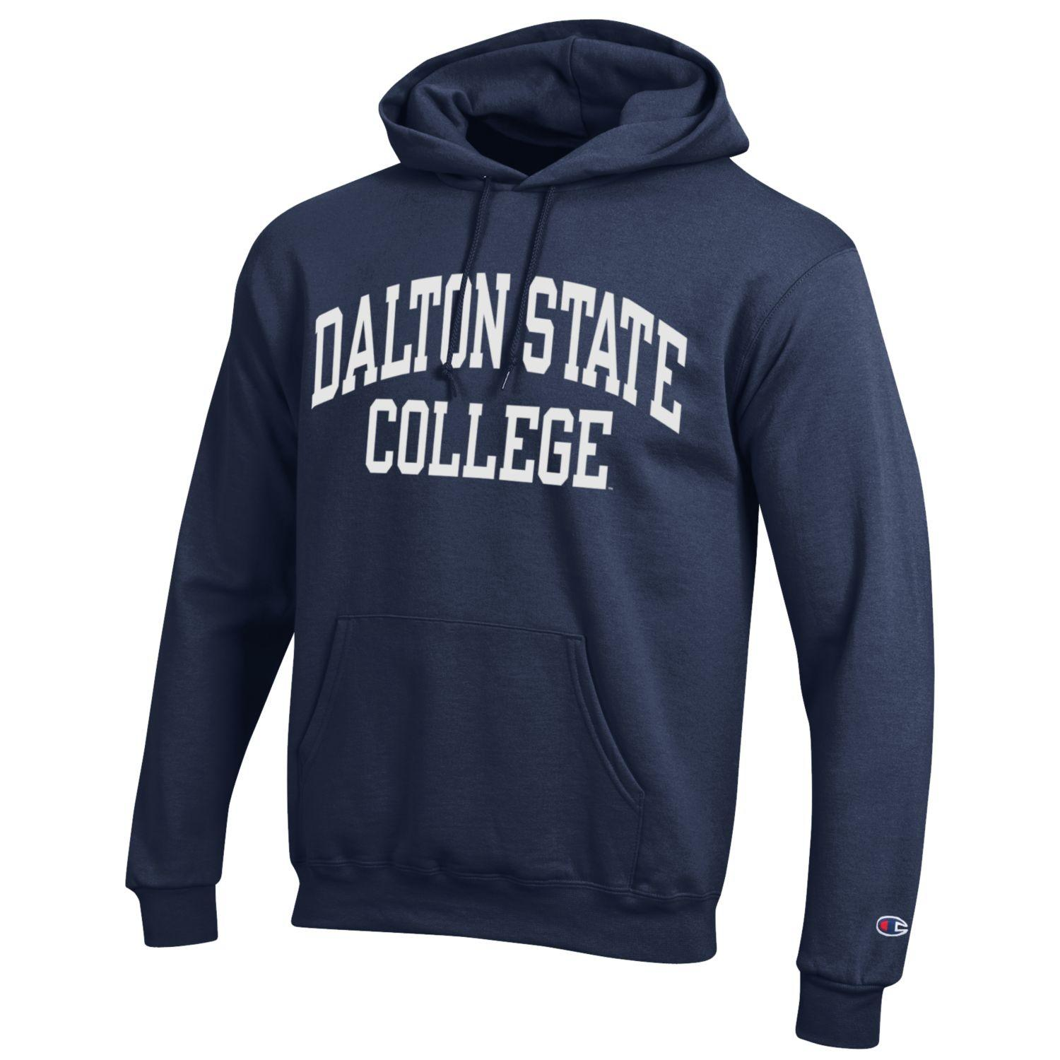 Dalton State College Arch Powerblend Hooded Sweatshirt