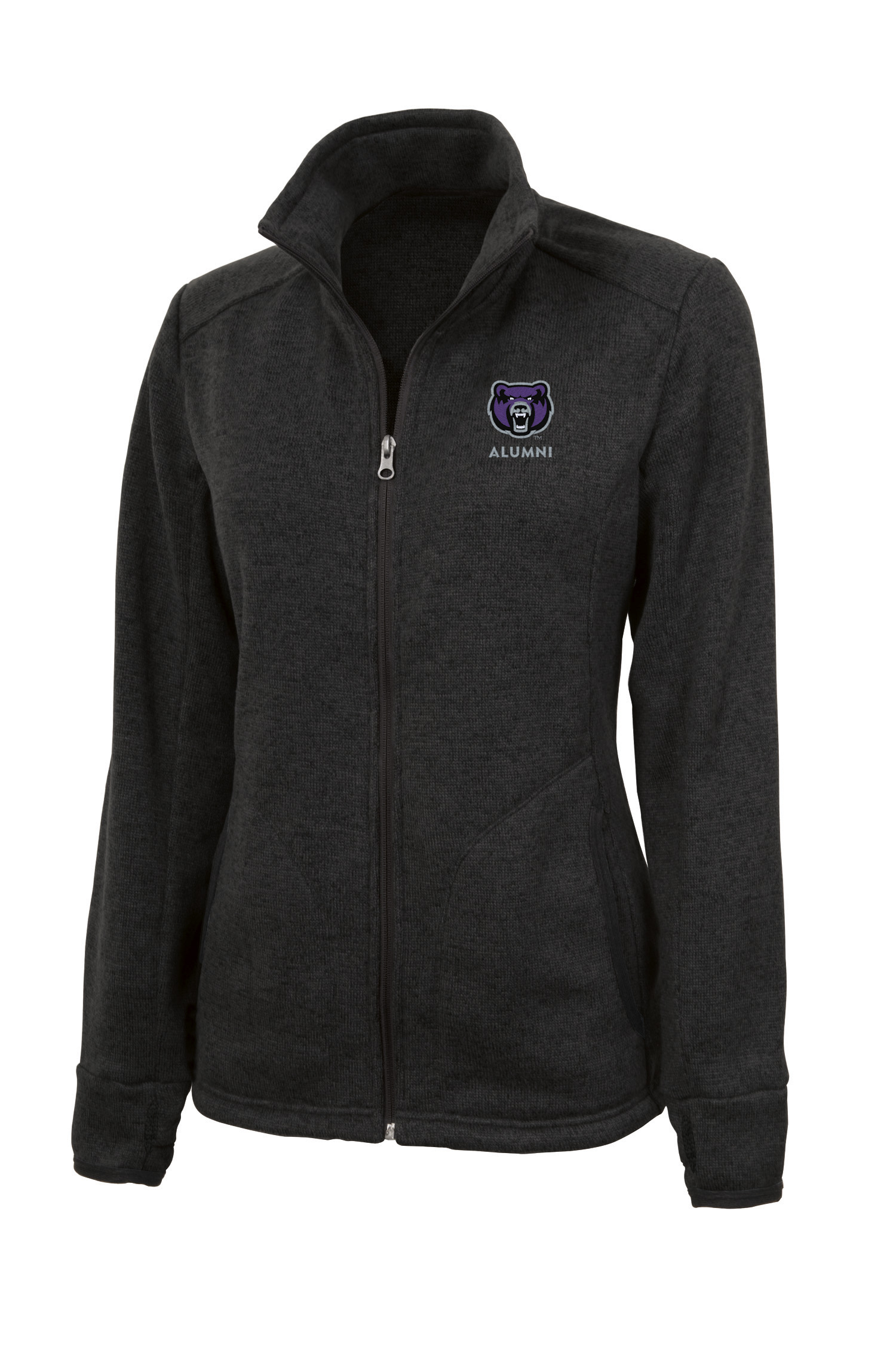 Women's Alumni Heathered Fleece Jacket