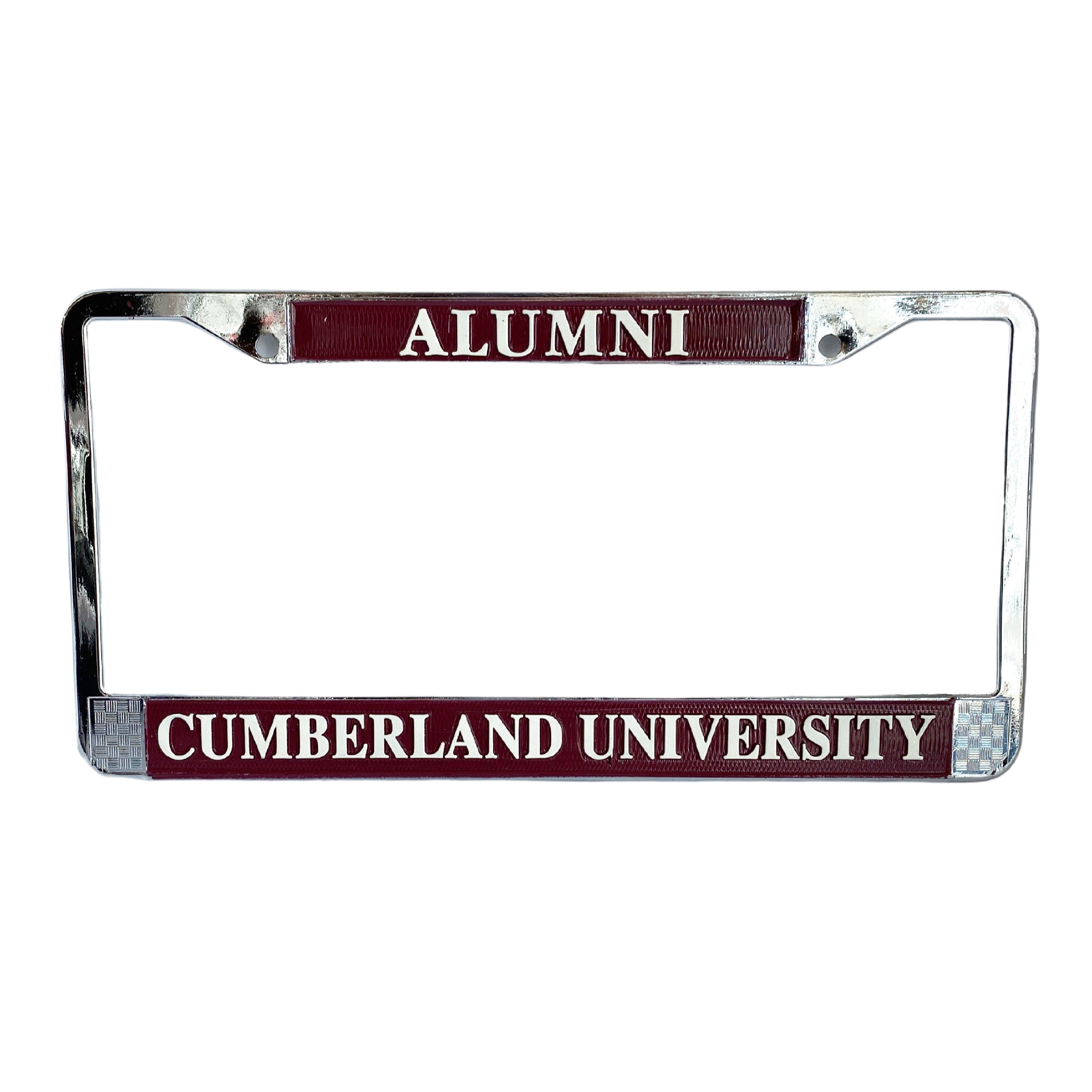 Cumberland University Alumni License Plate Frame
