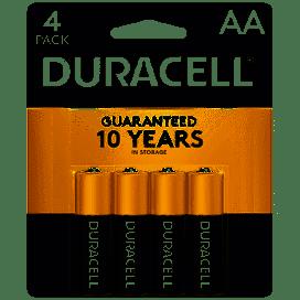 Coppertop AA Alkaline Batteries, 4/Pack