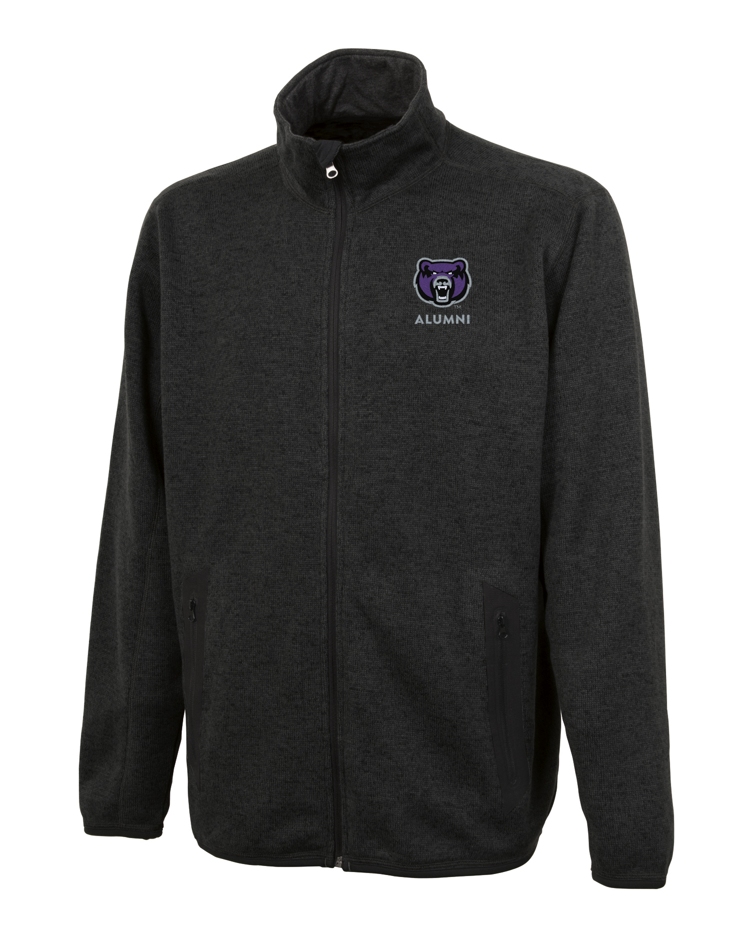 Men's Alumni Heathered Fleece Jacket