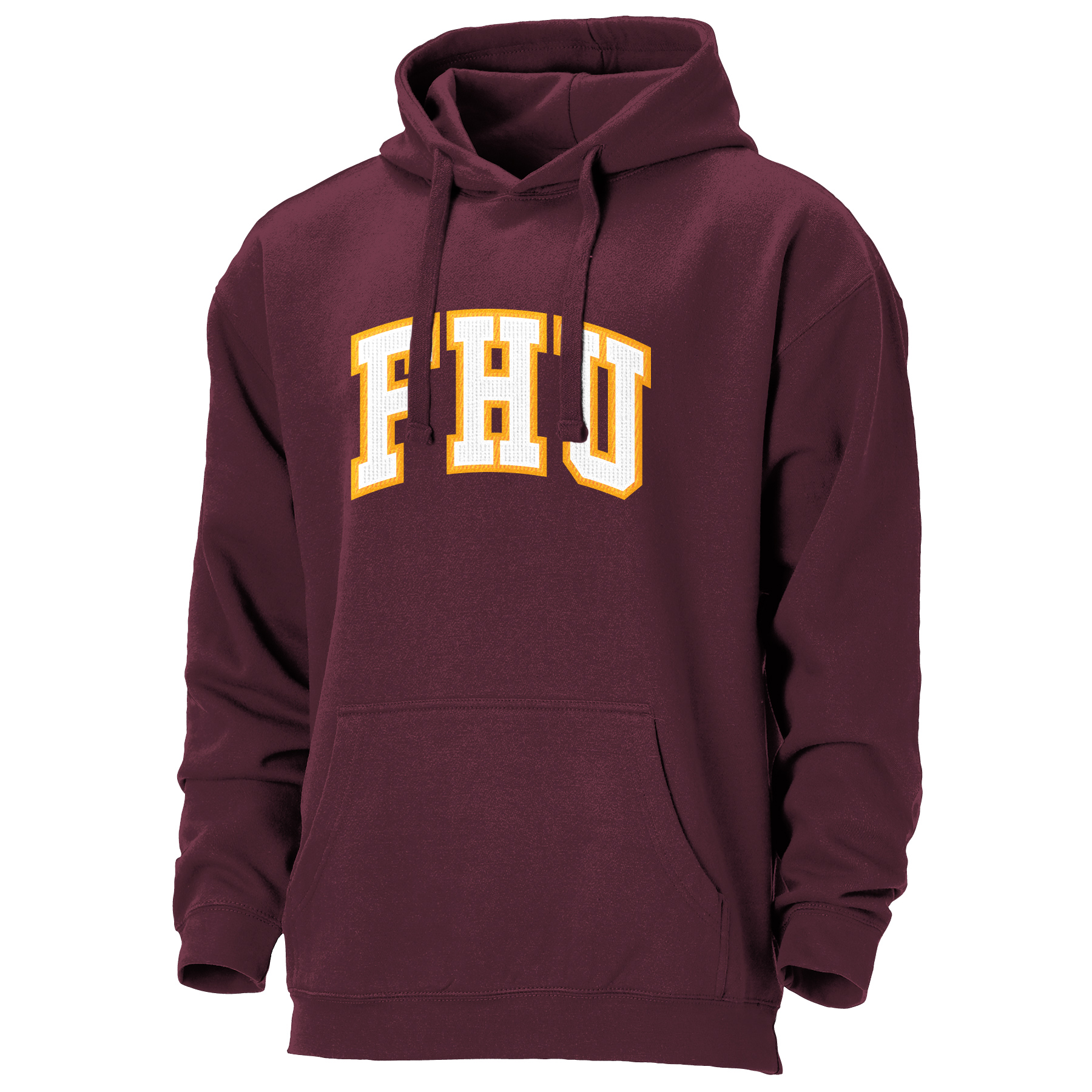 FHU Embroidered Hoodie