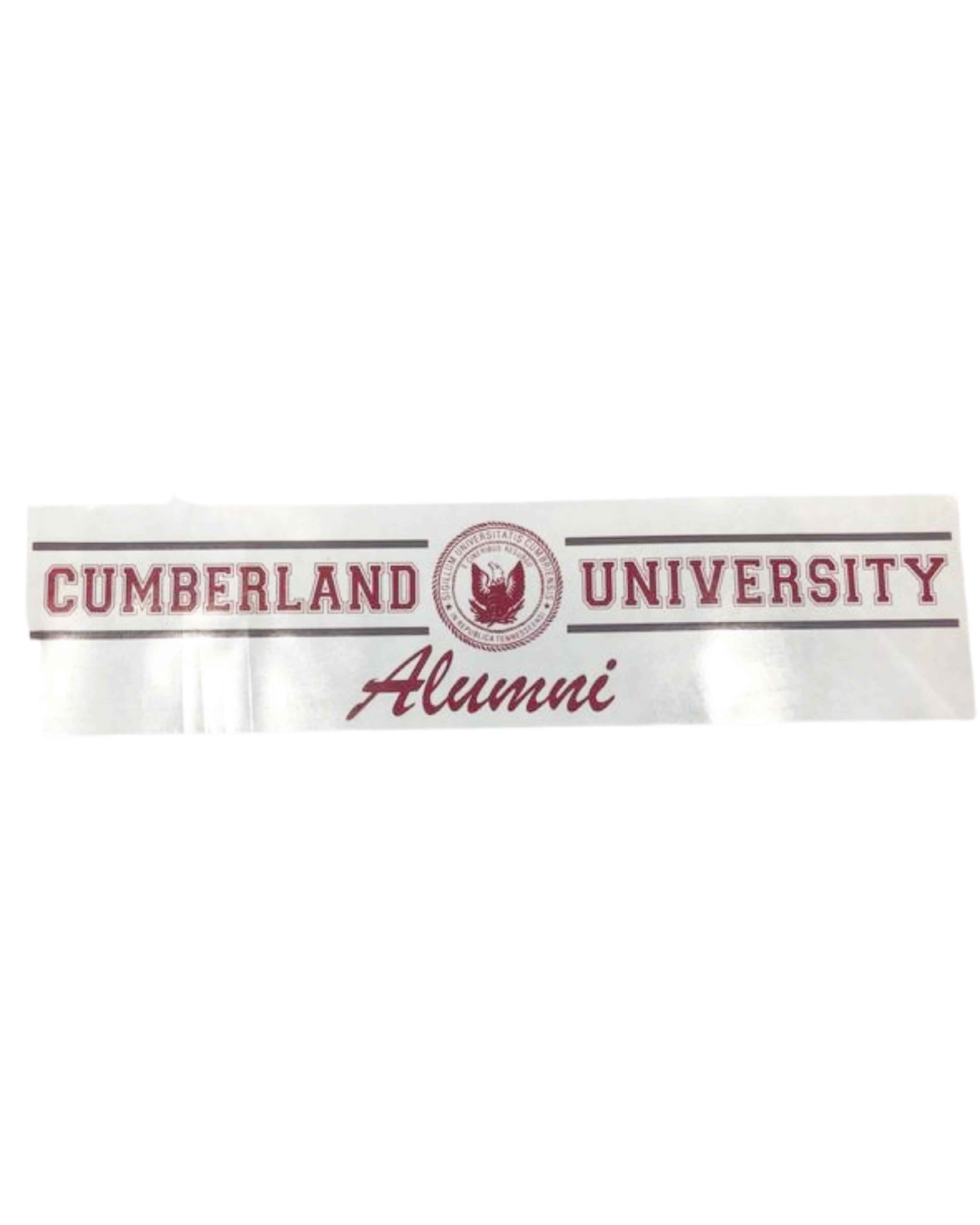Cumberland University Alumni Decal