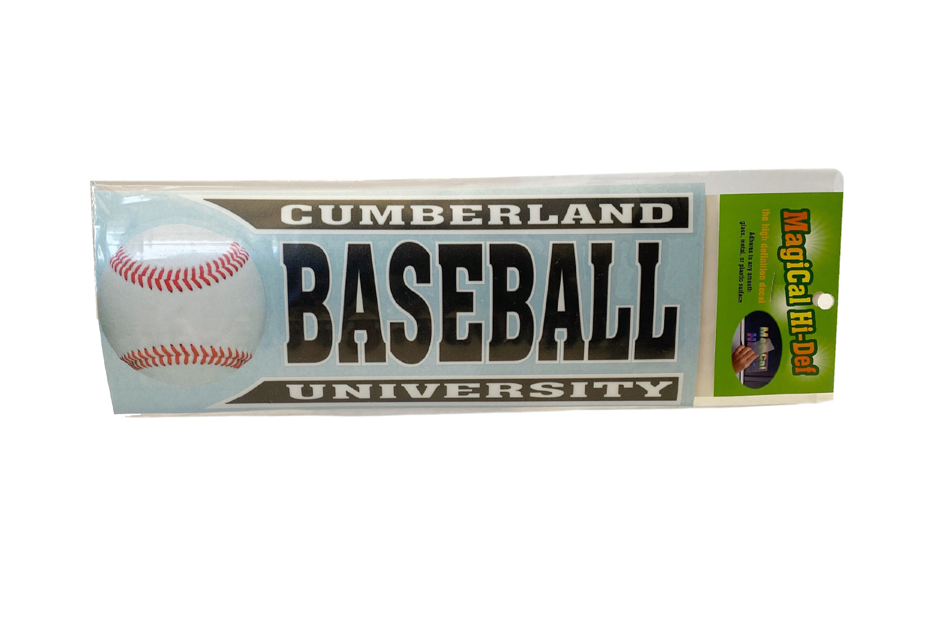 Cumberland Baseball Line Design Decal