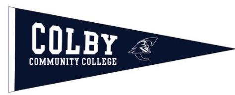 Colby CC Pennant