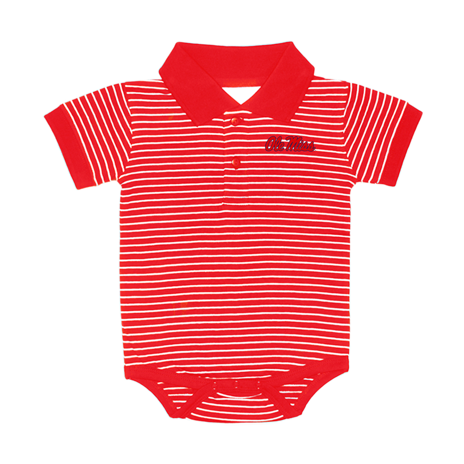 Stripe Jersey Golf Shirt Creeper