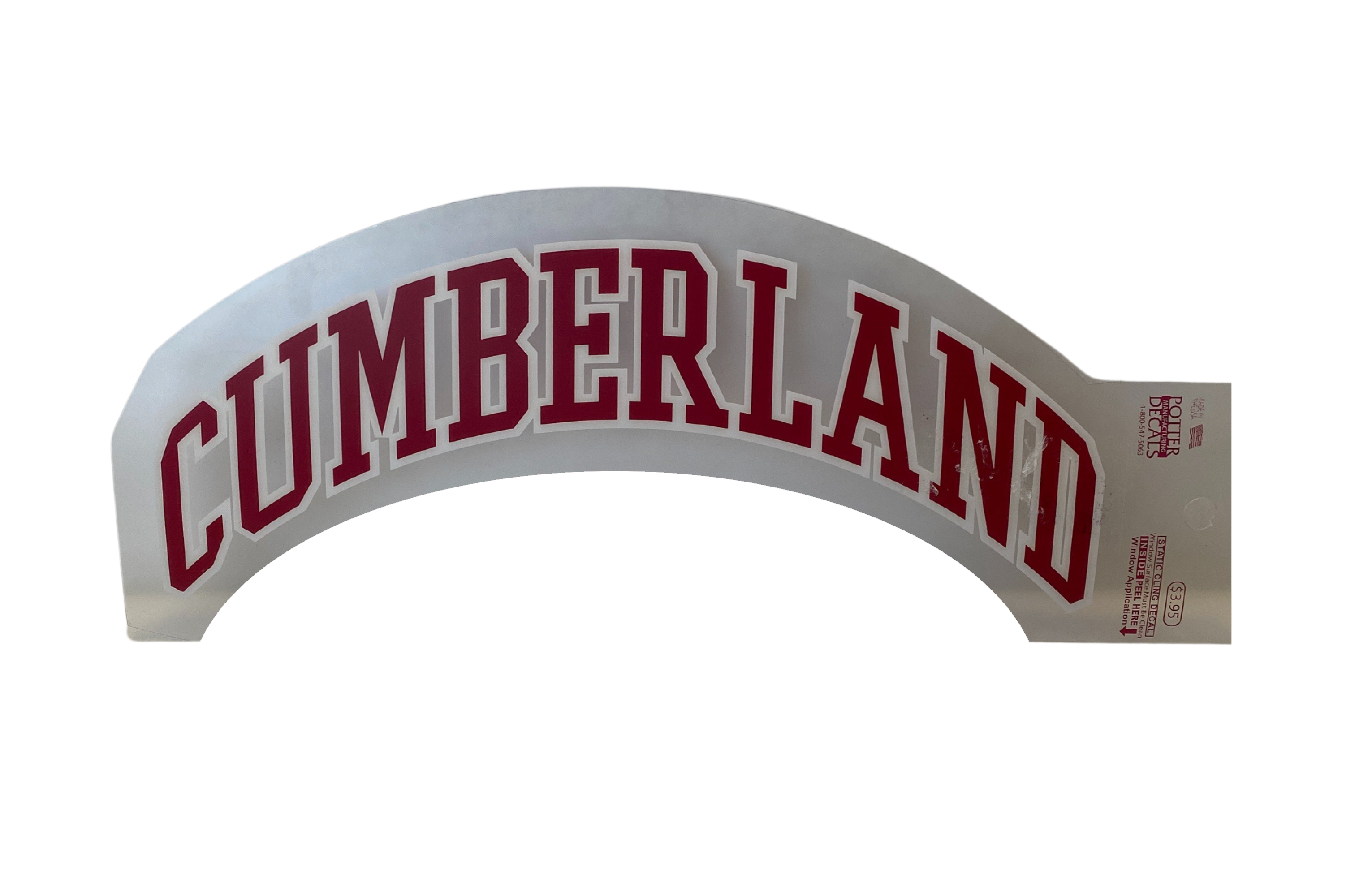Cumberland Arch Decal