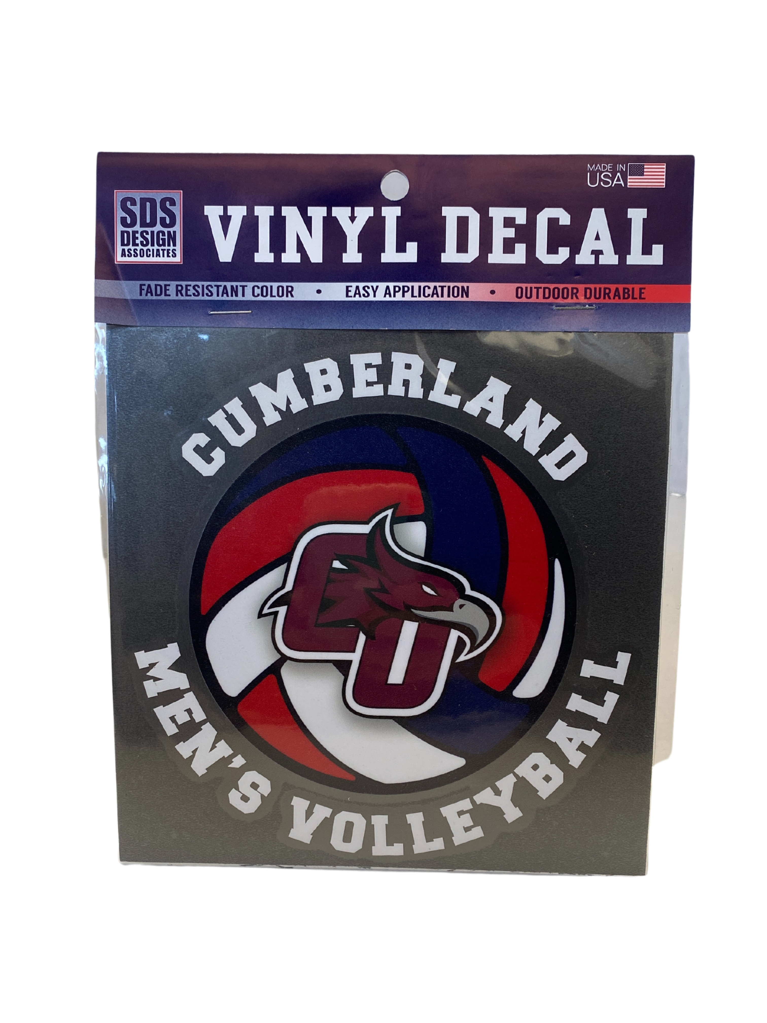 Cumberland Men's Volleyball Decal