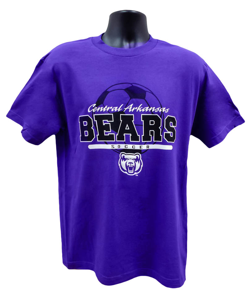 Soccer Central Arkansas Bears Tee
