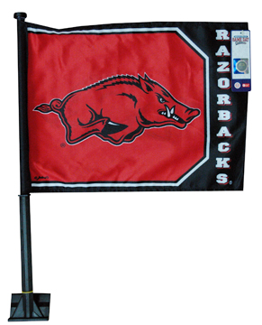 Razorback Car Flags