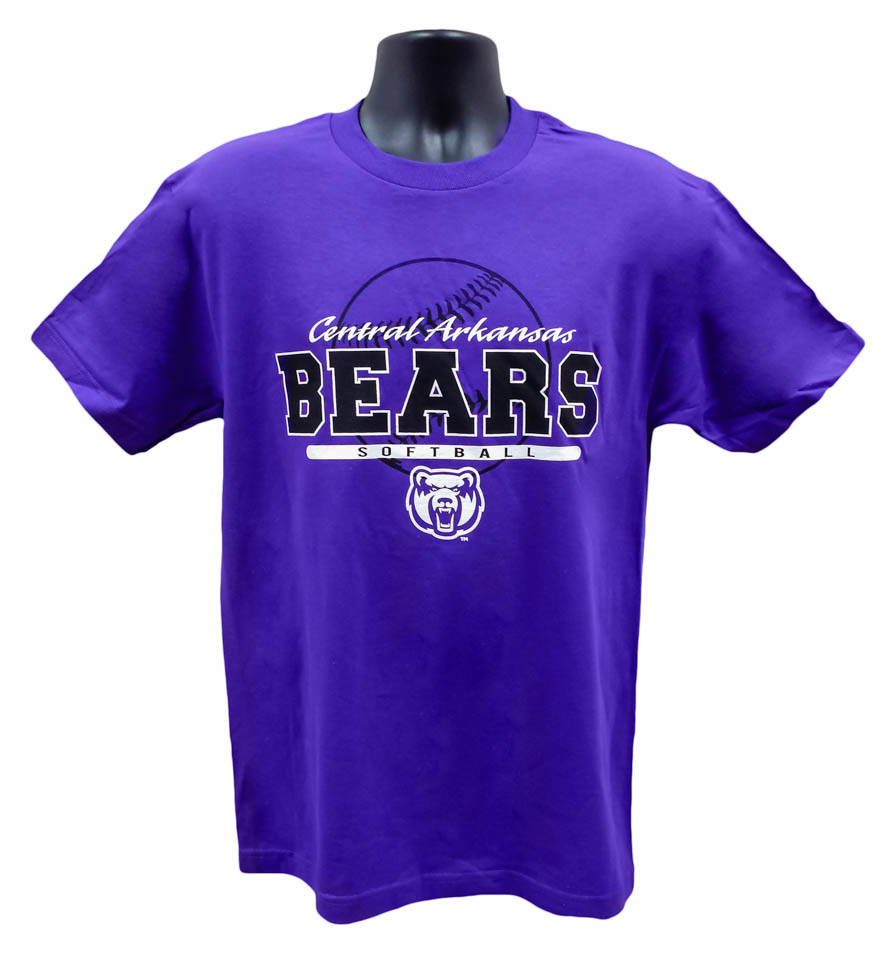 Softball Central Arkansas Bears Tee
