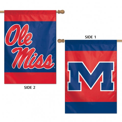 2 Sided Vertical Flag