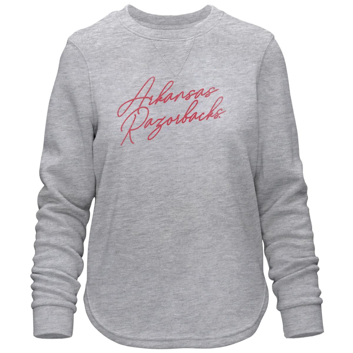 Arkansas Razorbacks Script Sweatshirt