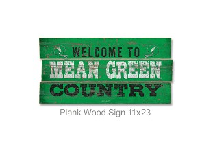 WOODEN PLANK SIGN