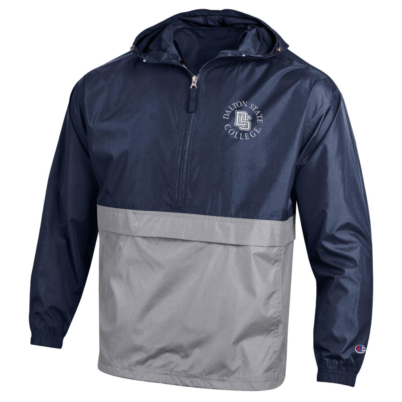Dalton State College Color Block Pack n Go Jacket