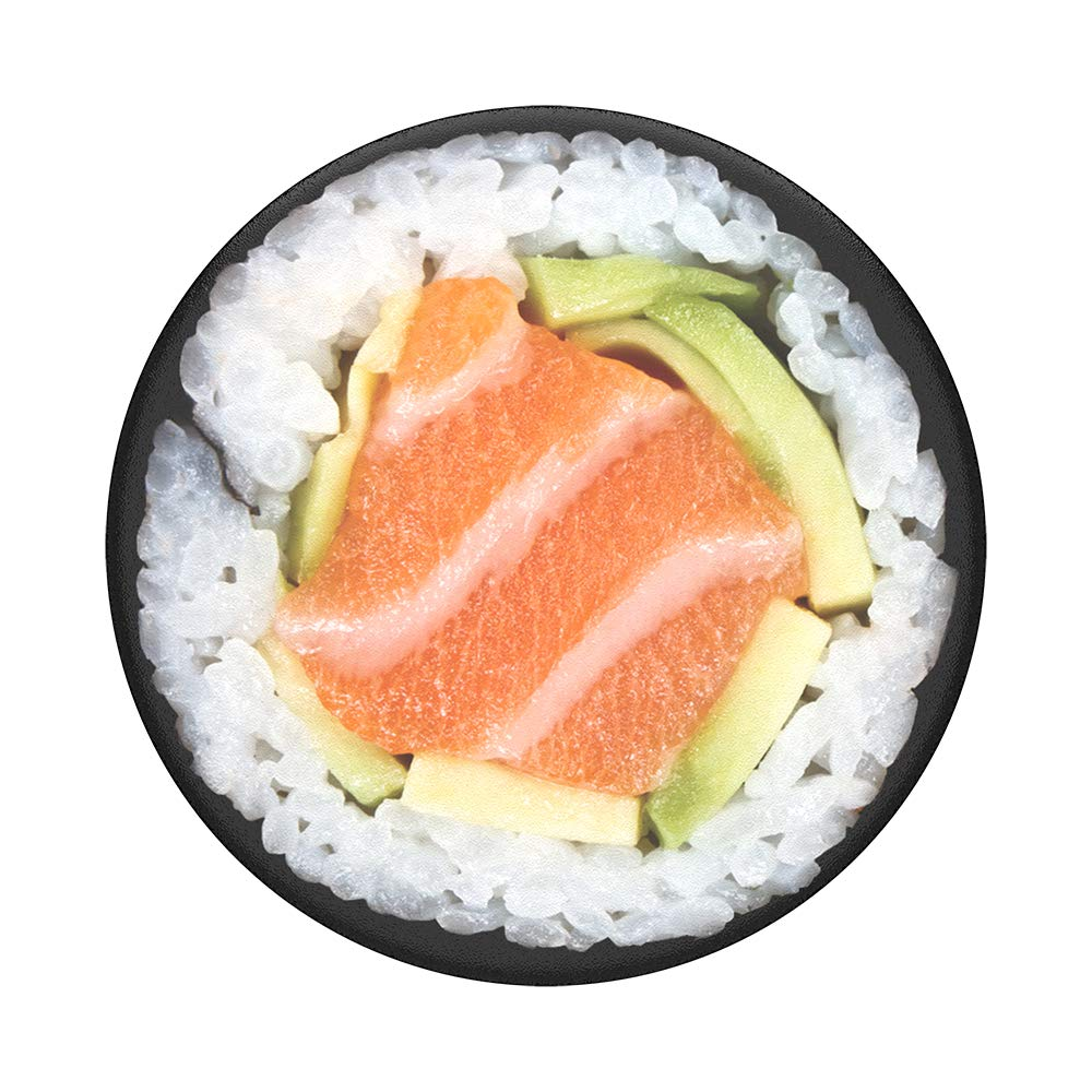 Salmon Roll Swappable PopSocket