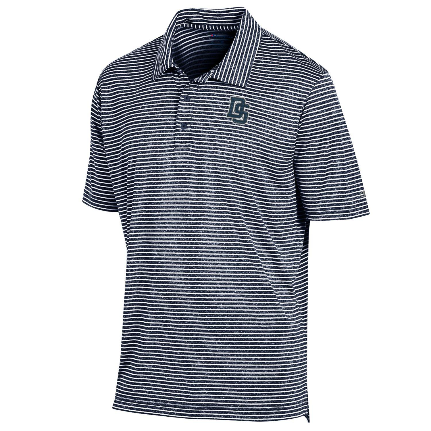 DS Logo Men's Stadium Stripe Polo