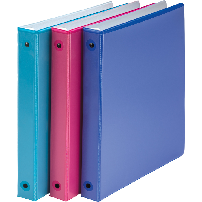 "1"" Two Tone Fashion Binders"