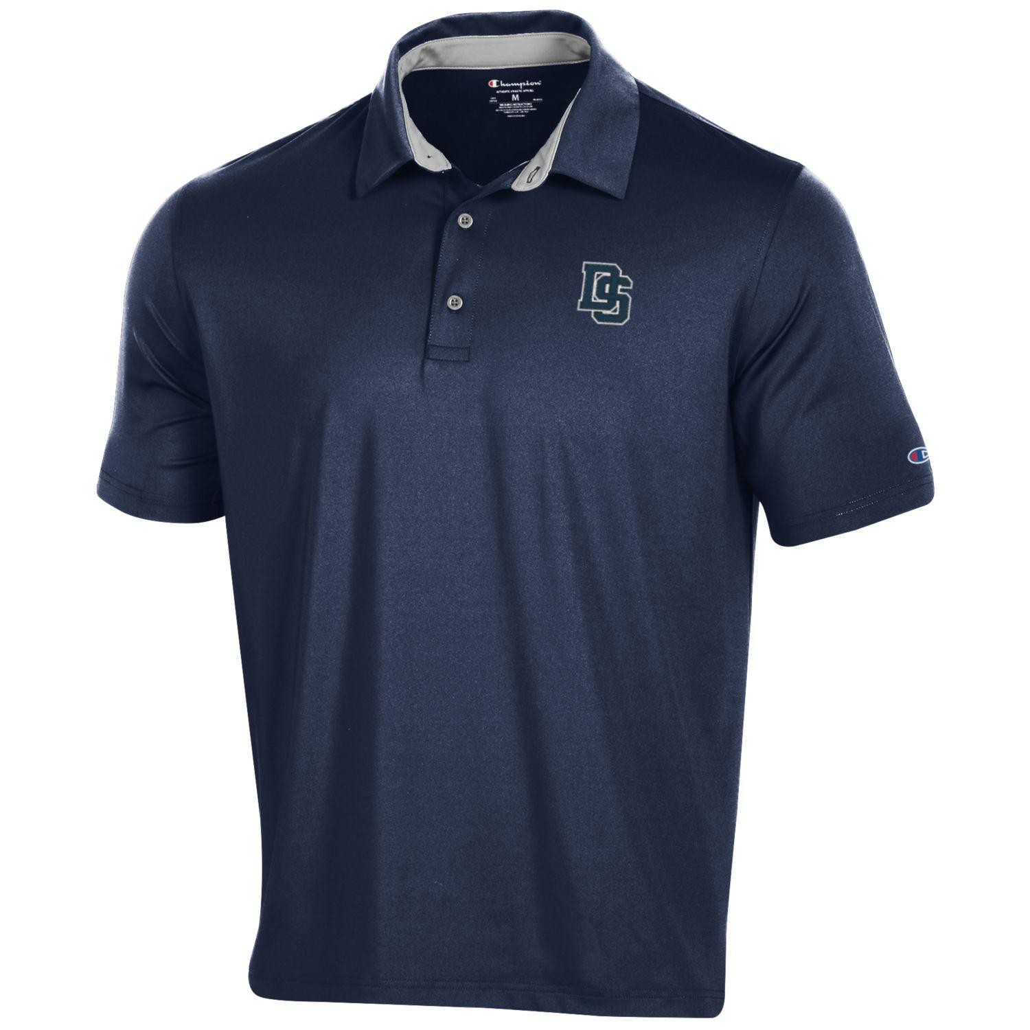 DS Logo Men's Solid Polo